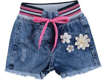 джинсовые шорты на девочку 2