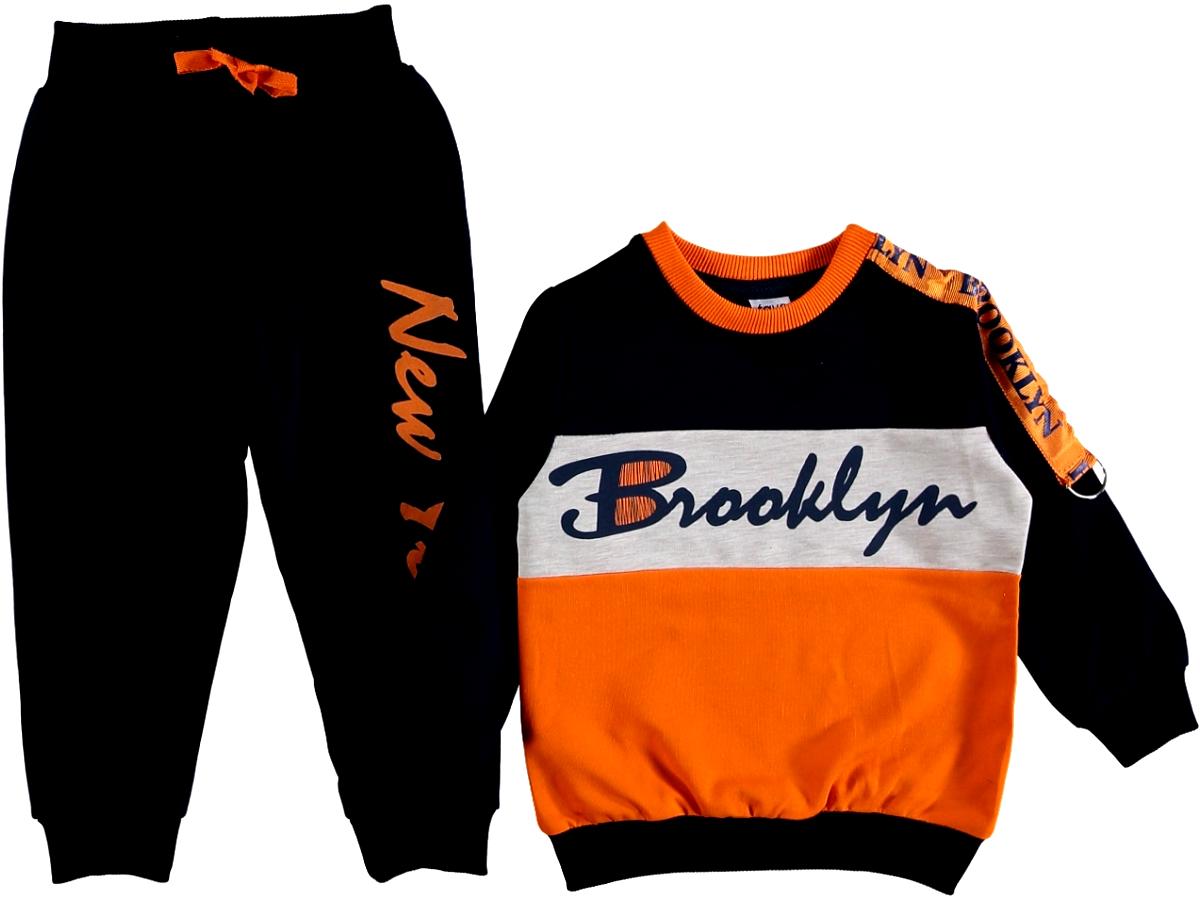 Спортивный костюм оранжевый 308612