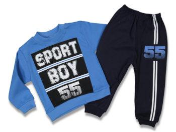 Костюм на мальчика 1/3 года синий 90558