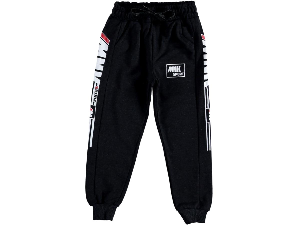Спортивные штаны 9/12 лет черные 311190