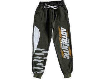 Спортивные штаны на мальчика хаки 316026