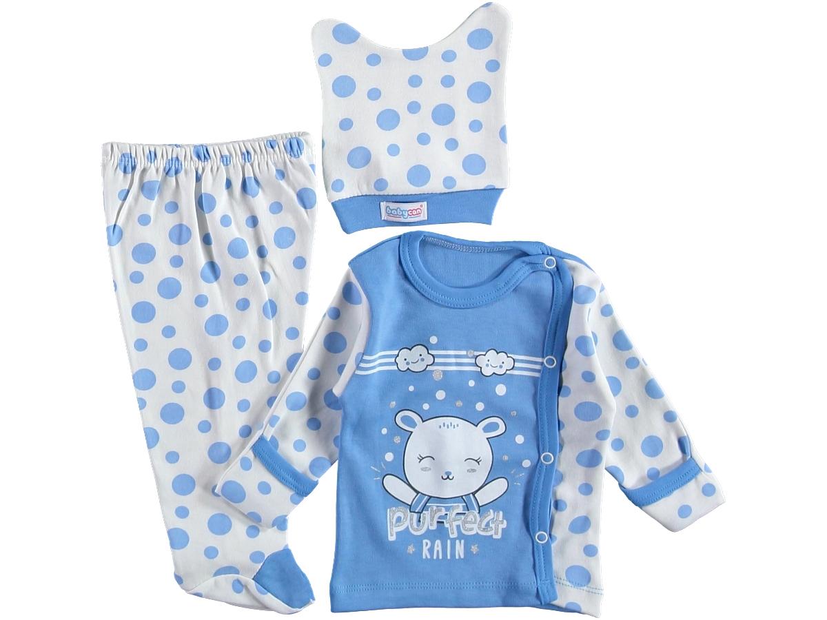 Комплект на малыша 0-3 мес голубой 318097