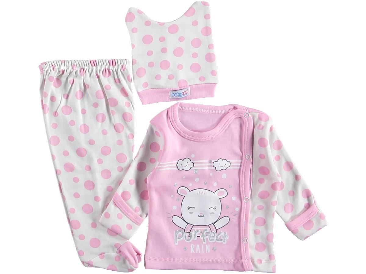 Комплект на малыша 0-3 мес розовый 318097